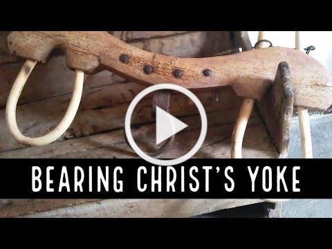Bearing Christ's Yoke & the Burden of Religion