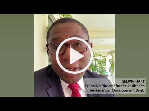 EcoMicro Knowledge Sharing Event 2019, Message from Selwin Hart Executive Director for the Caribbean
