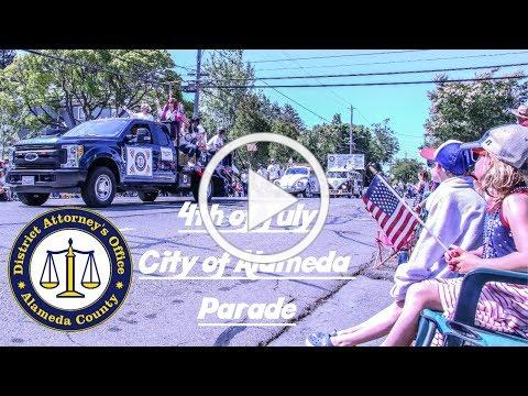 Alameda County District Attorney - 4th Of July Alameda Parade 2019