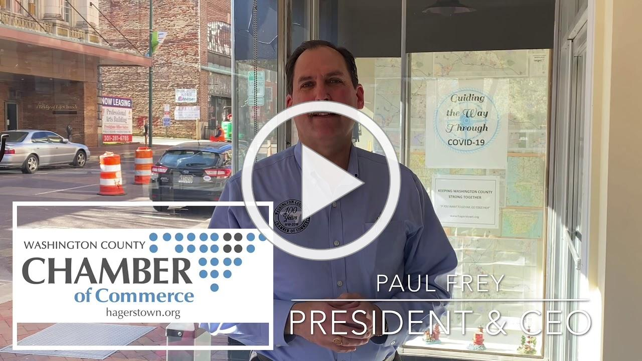 A Message of Support from Chamber President Paul Frey