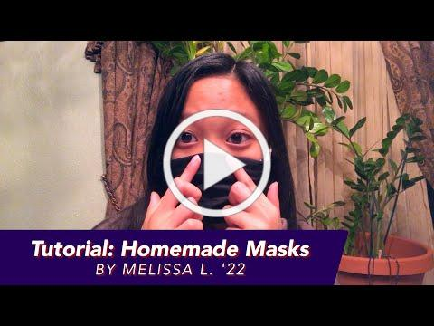 Tutorial: Homemade Masks - Try it Tuesday!