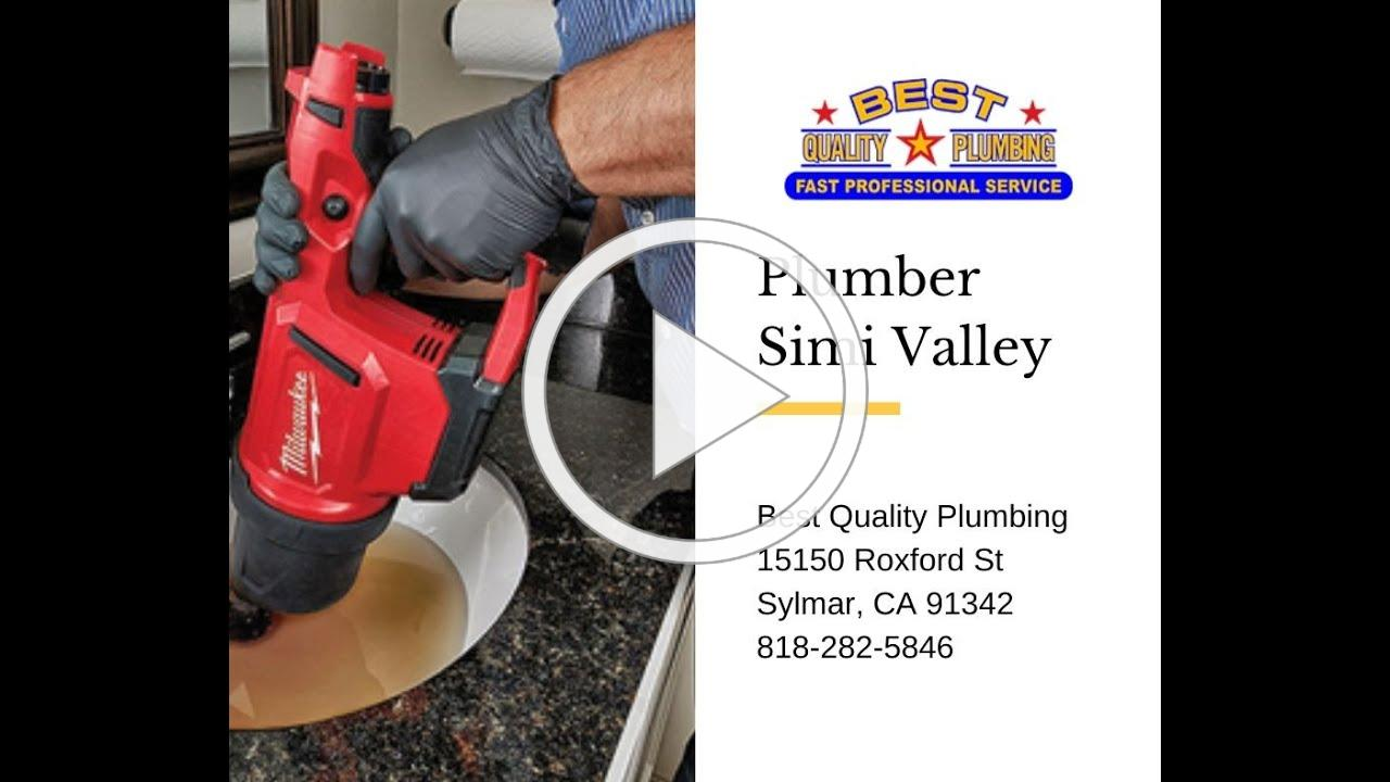 Plumber Simi Valley - Best Quality Plumbing