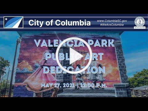 Valencia Park Public Art Dedication Ceremony
