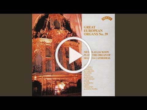 Sonata de 1 tono para clave o para organo con trompeta real