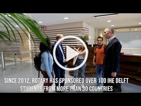 IHE Delft 💧 Rotary-IHE Delft Scholarship Program