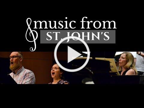 Music from St. John's | Ingela Onstad, Michael Hix, & Amy Greer