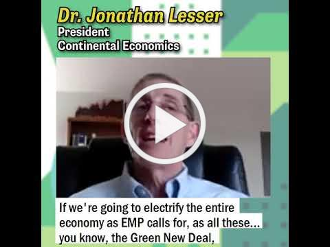 Dr. Lesser on California Rolling Blackouts