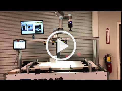 Conveyor Demo with Machine Vision and Collaborative Robot- Pick and Place with Medicine Blister Pack