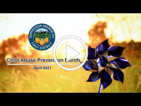 Child Abuse Prevention Month - April 2021