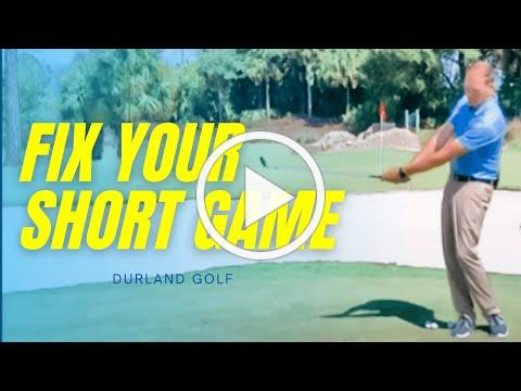 GOLF TIP   How To FIX YOUR SHORT GAME