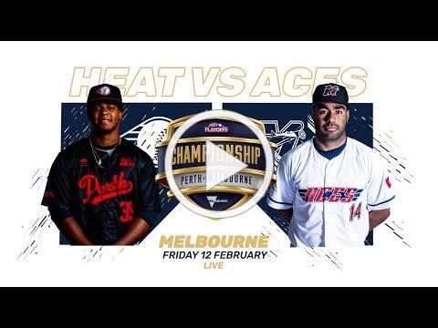 Melbourne Aces v Perth Heat - Australian Baseball League - Championship - February 12, 2021