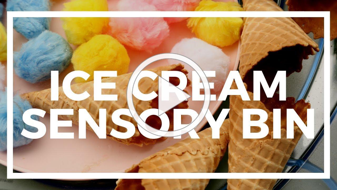 Ice Cream Sensory Bin | Kaplan Early Learning Company