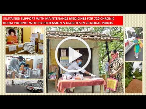 Sri Sathya Sai Aarogya Vahini - Relief Support Amid Covid 19 Crisis
