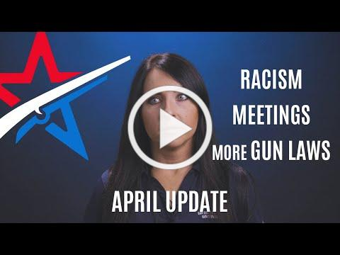 RCGO Report - Institutional Racism, In Person Meetings, and more Gun Laws