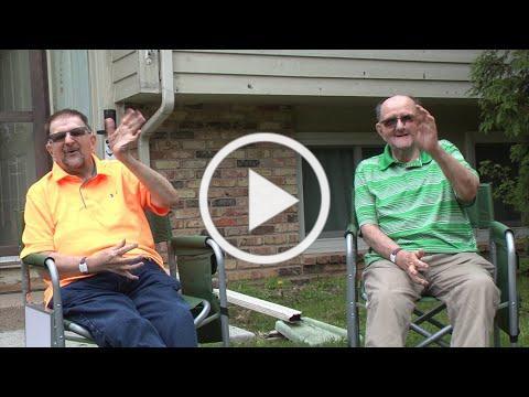 ProAct visits Randy and Howard at home
