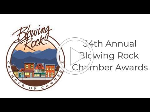 Blowing Rock Chamber of Commerce 34th Annual Awards Ceremony