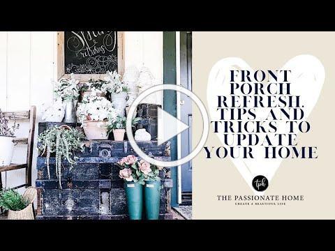 Front Porch Refresh | Easy Decor Ideas