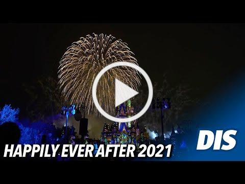 Happily Ever After Fireworks Return to Magic Kingdom 2021 (4K UHD)