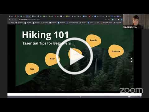 Outdoor Chattanooga | Hiking 101 Workshop