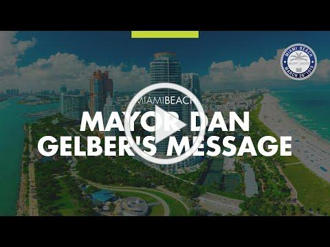 Mayor Dan Gelber's COVID19 Update 8 27 2020