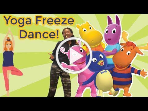 Backyardigans Yoga Freeze Dance Party!