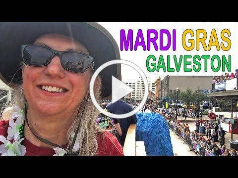 Mardi Gras Galveston! | RV Texas Y'all
