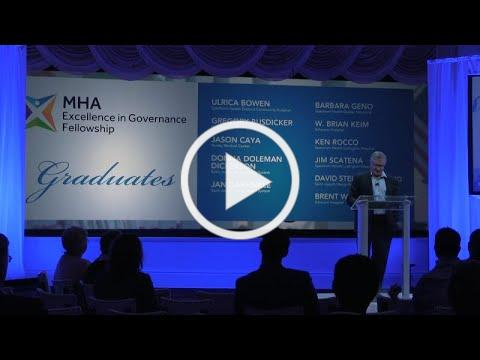 MHA Excellence in Governance Fellowship 2019