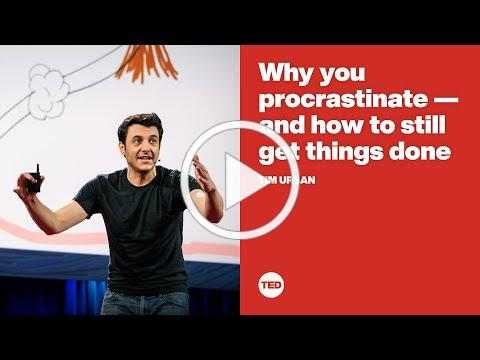 Why you procrastinate -- and how to still get things done | Tim Urban