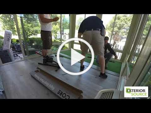 Sunroom Installation Timelapse - Exterior Source
