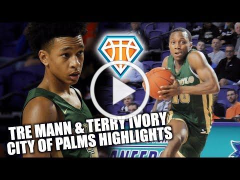 Tre Mann GETS BUCKETS in City of Palms Debut!! | Terry Ivory Dropping Dimes EVERYWHERE