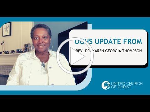OGHS Update with Rev Dr Karen Georgia Thompson