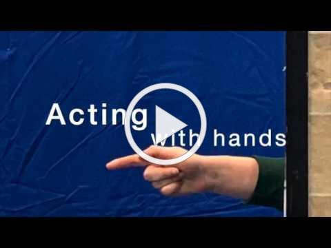 Teacher Workshop - Hands!