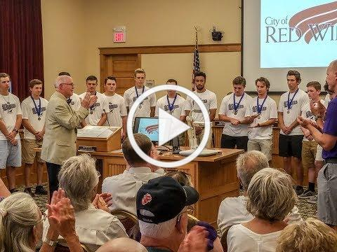 Red Wing Boys Baseball awarded for Outstanding Achievement