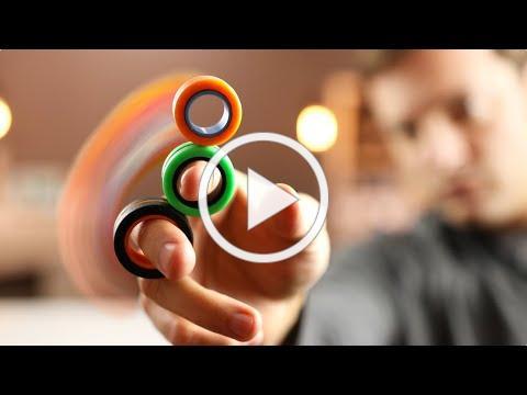 Best Fidget Toy 2020? | Crazy Tricks | Fin-Gears KickStarter Review