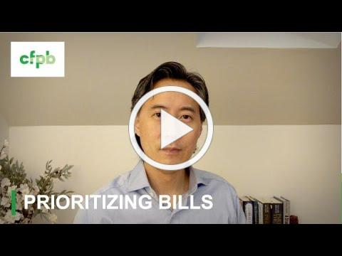 Five tips for when you can't pay your bills - consumerfinance.gov