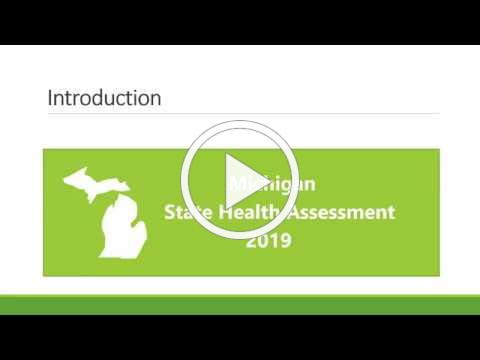 Michigan State Health Assessment 2019