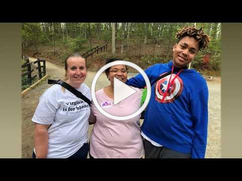 Kelly Waters, Virginia Hemophilia Foundation