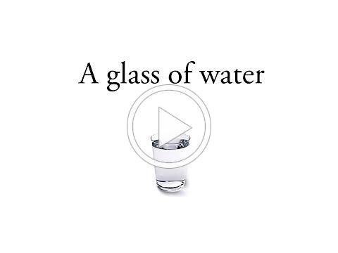 """A glass of water"" An inspirational story"