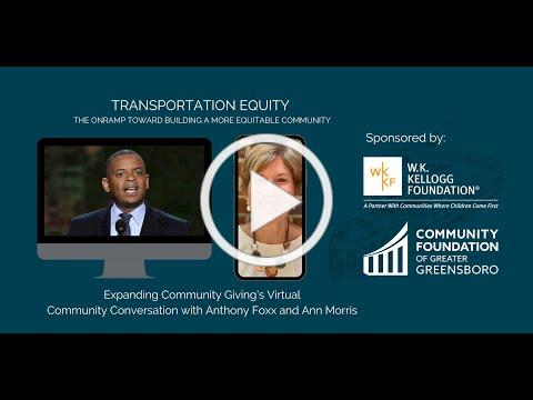 Transportation Equity: The Onramp Toward Building A More Equitable Community