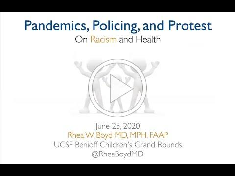 June 25, 2020- Pandemics, Policing and Protest: On America's racism and where we go from here