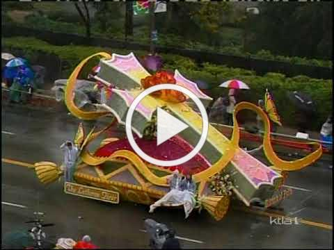 The LHM Rose Parade Float January 2006