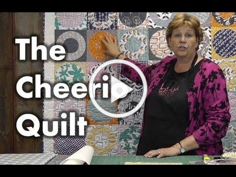 The Cheerio Quilt - Quilting with Circles