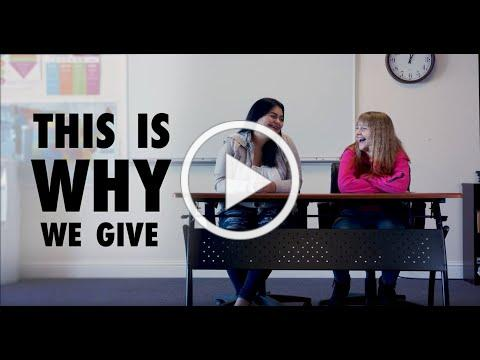 #ThisIsWhyWeGive - The Women's Fund - California Heritage YouthBuild Academy