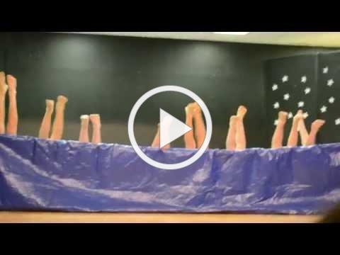 5th grade boys Synchronized Air Swimming Talent Show Skit W A Porter Elementary