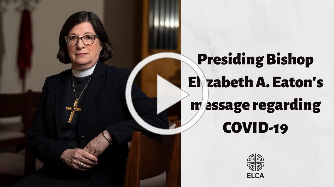 Bishop Eaton on COVID-19