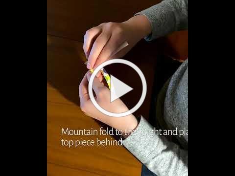 Colin Murphy makes an Origami Cross