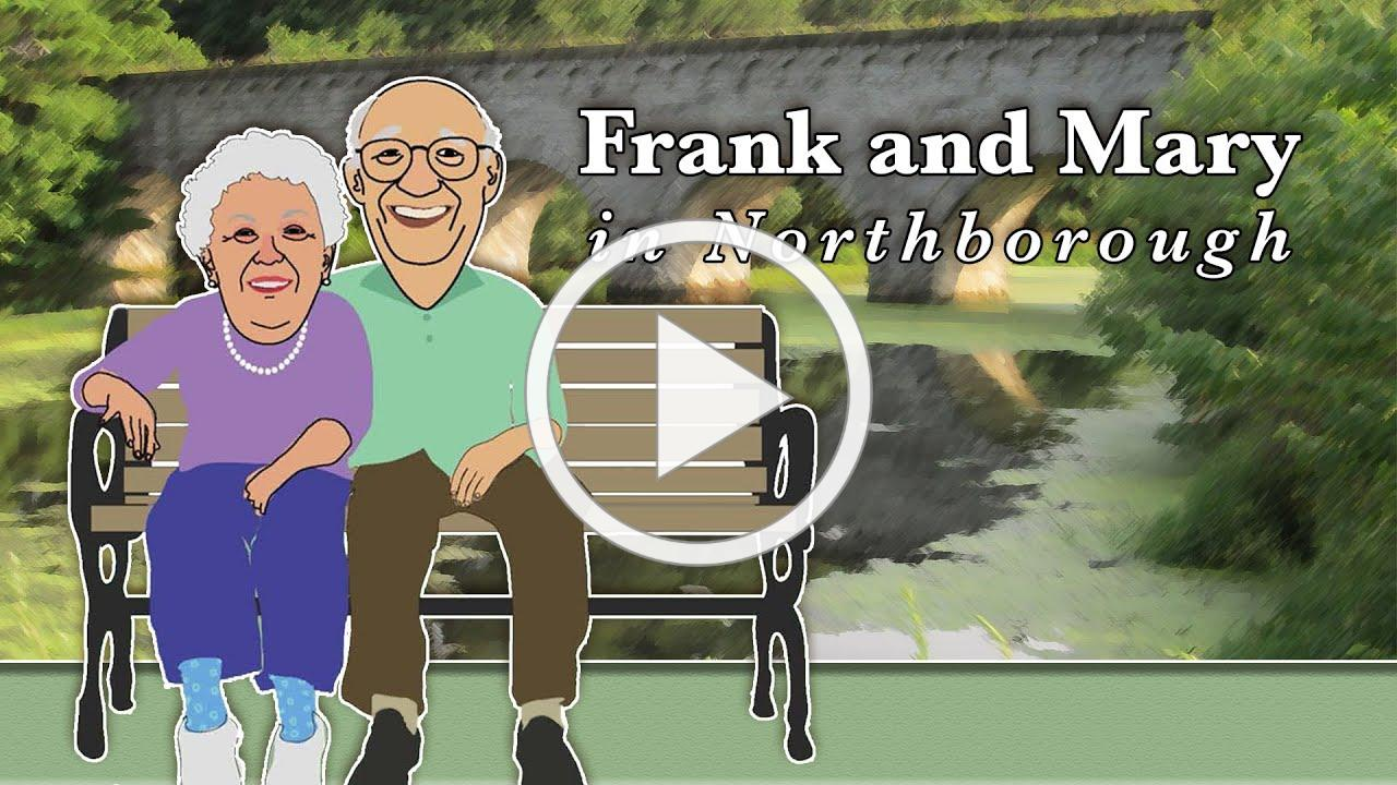 Frank and Mary in Northborough / Christine Alessandro from BayPath Elder Services