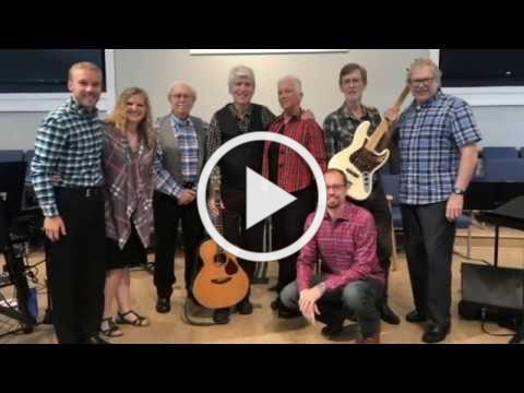 Crown Him With Many Crowns -- The Connections praise band at Pinehurst United Methodist Church