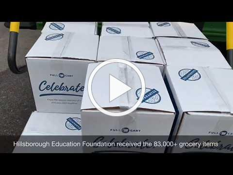 HEF coordinates food donation to families in need