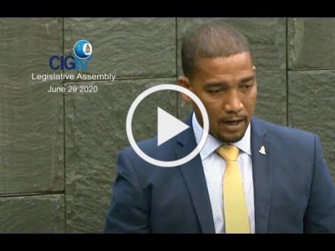 5G Health Effects Caymen Islands Legislative Session